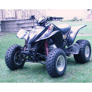 kymco mongoose or maxxer 300 or 250 atv widening and shock. Black Bedroom Furniture Sets. Home Design Ideas