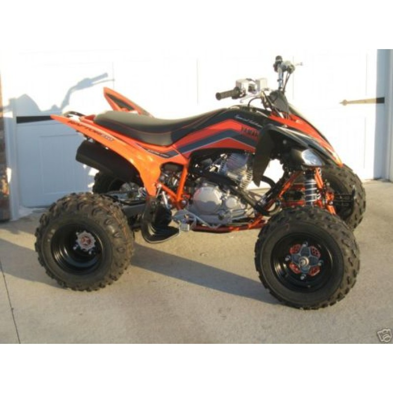 yamaha raptor 250 or raptor 125 atv widening and shock conversion kit. Black Bedroom Furniture Sets. Home Design Ideas