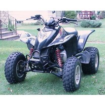 Arctic Cat DVX 250 Widening and Shock Conversion Kit
