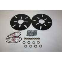 ATV Front Wheels Universal (Slotted Holes) Conversion Kit (4 bolt patterns)